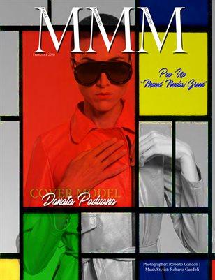 """POPUP """"Mixed Media/Green"""""""