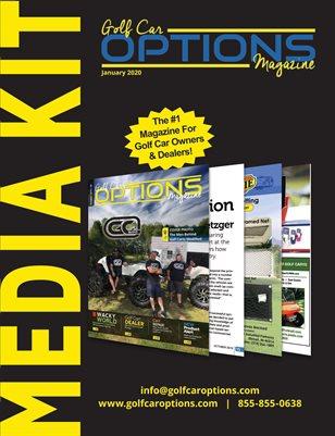 Golf Car Options Magazine Media Kit (Jan 2020)