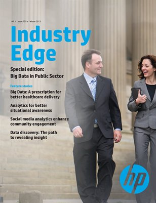 Industry Edge Special Edition: Big Data in Public Sector