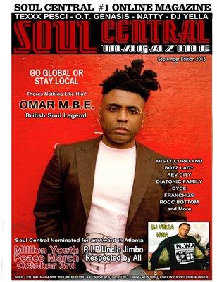 Soul Central Magazine September 2015 Edition