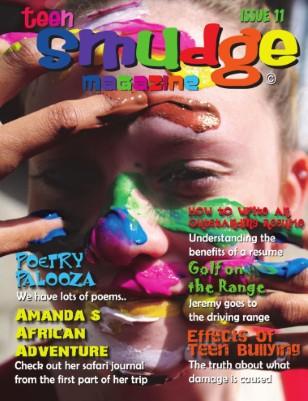 A colorful creative magazine for teens