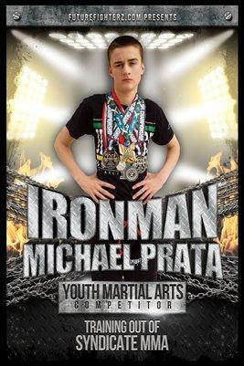 Michael Prata Ironman Poster