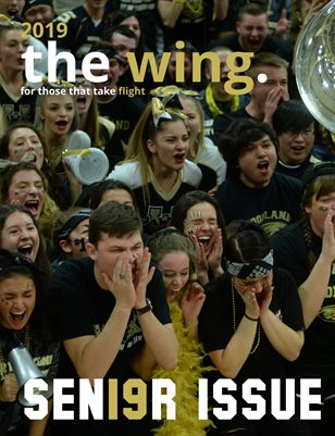 2019 - The Wing -Senior Grad Mag