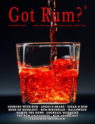 """""""Got Rum?"""" October 2020"""