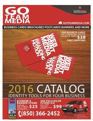 Go Team Media 2016 catalog