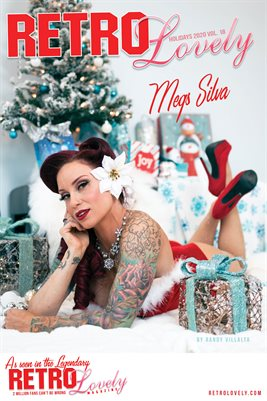 Megs Silva Holiday 2020 Cover Poster