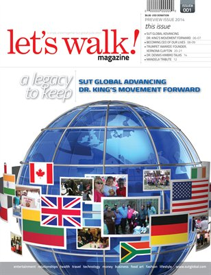 SUT Global_Let's Walk Magazine Preview Issue