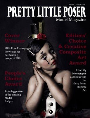 Pretty Little Poser Model Magazine - October 2020 - Issue 5