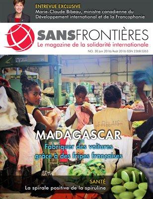 Magazine Sans Frontières (Num.30/Juin-Aout2016)
