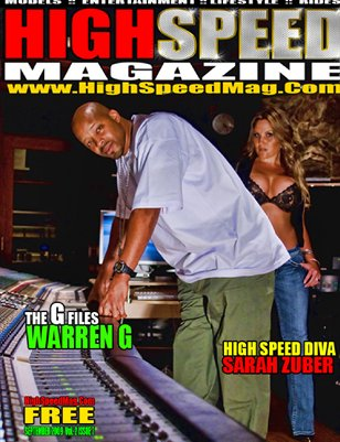 HIGH SPEED MAGAZINE SEPT 2009 – WARREN G