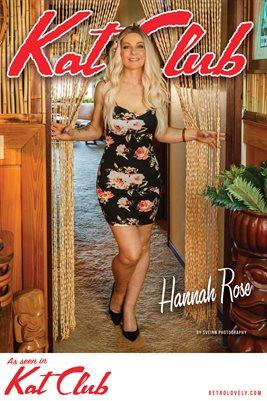 Kat Club No.24 – Hannah Rose Cover Poster