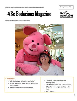 Be Bodacious Magazine Spring/Summer 2019