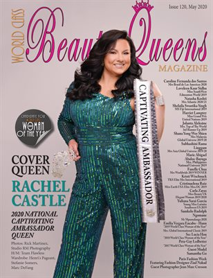 World Class Beauty Queens Magazine Issue 120 with Rachel Castle