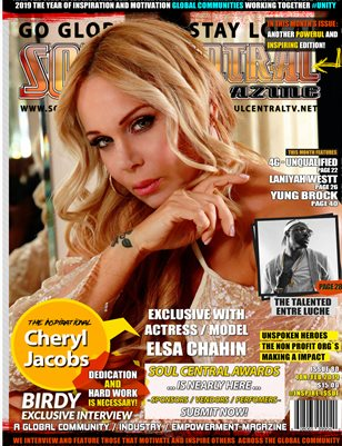 Soul Central Magazine Edition #80 Cheryl Jacobs