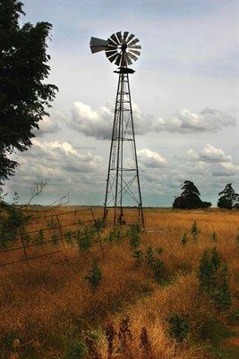 Carnigie Oklahoma Windmill