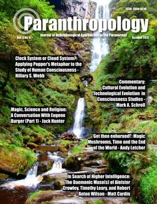 Paranthropology: Journal of Anthropological Approaches to the Paranormal Vol. 3 No. 4 (October 2012)