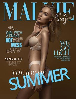 MALVIE Magazine The Artist Edition Vol 263 July 2021