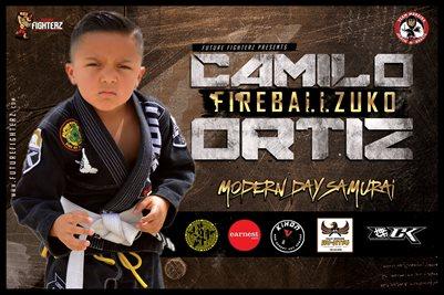 Camilo Ortiz Modern Day Samurai Poster