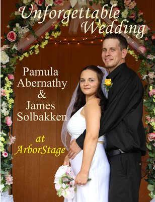 Wedding Photo Book Mr & Mrs James Solbakken