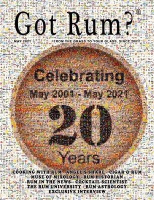 """""""Got Rum?"""" May 2021"""