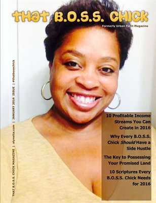January 2016 Inaugural Issue