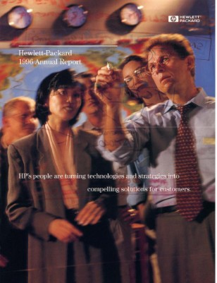 HP Annual Report 1996