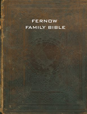 FERNOW FAMILY BIBLE