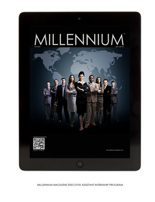 MILLENNIUM MAGAZINE EXECUTIVE ASSISTANT INTERNSHIP PROGRAM