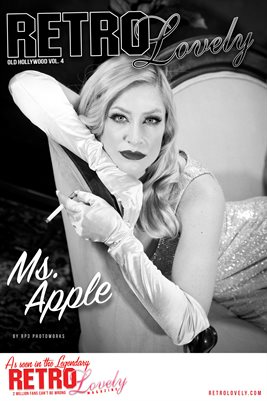 Ms. Apple Old Hollywood Cover Poster