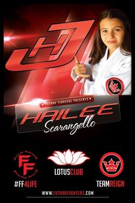 Hailee Scarangello Poster - Red