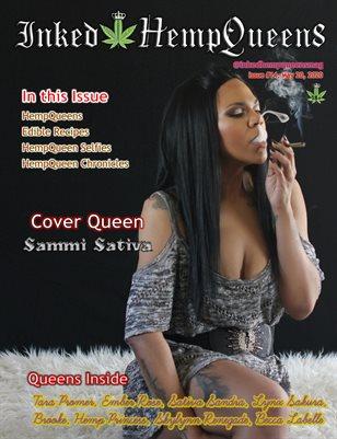 Inked HempQueens Magazine ~ Issue 14 ~ Sammi Sativa