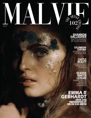 MALVIE Magazine The Artist Edition Vol 102 January 2021