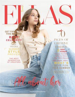 ELLAS Magazine | The July Teen Edition | Vol.2 | 2021
