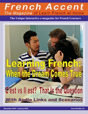 French Accent Magazine -  December 14-January 15 issue