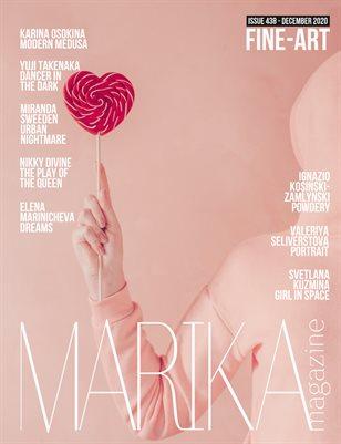 MARIKA MAGAZINE FINE-ART (DECEMBER-ISSUE 438)