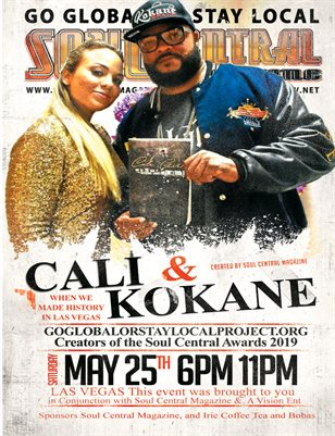 """Soul Central Magazine Edition #87 Cali Fae #Author + Kokane #Artist"""