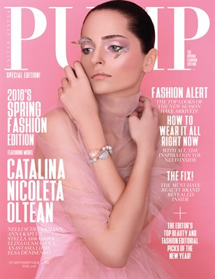 PUMP Magazine - The Spring Edition - Vol. 3