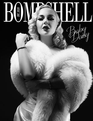 BOMBSHELL Magazine December 2020 - BOOK 1 Miss Baby Daisy Cover