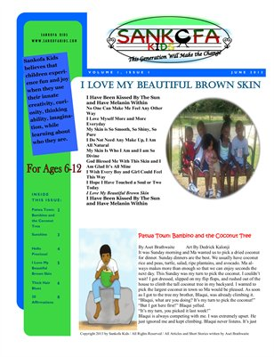 Sankofa KIds Newsletter June