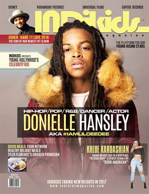 INDIKIDS WINTER 2016/2017 DONIELLE COVER