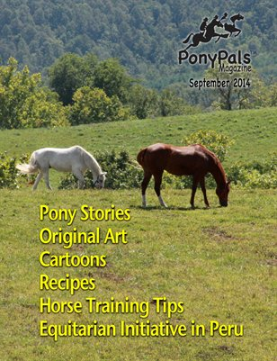 September 2014 Pony Pals Magazine -- Vol.4 #4