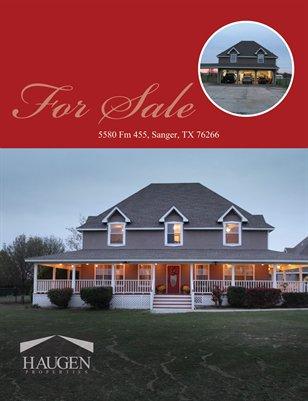Haugen Properties -  5580 Fm 455, Sanger, TX 76266