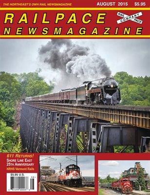 August 2015 Railpace Newsmagazine - MC