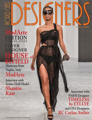 World Class Designers Magazine with House of Byfield at ModArte