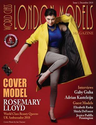 World Class London Models Magazine Issue 1 with Rosemary Lloyd