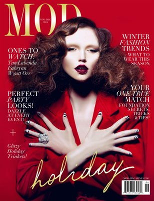 MOD MAGAZINE: Volume 3; Issue 6; THE HOLIDAY ISSUE