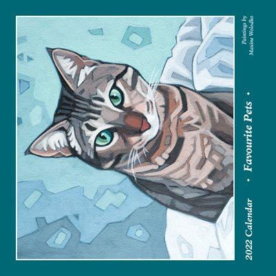 2022 Pets Calendar by Maxine Wolodko