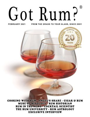 """Got Rum?"" February 2021"