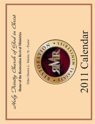 Holy Trinity 2011 Calendar