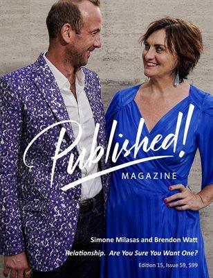 PUBLISHED! #15 Excerpt featuring Simone Milasas & Brendon Watt!